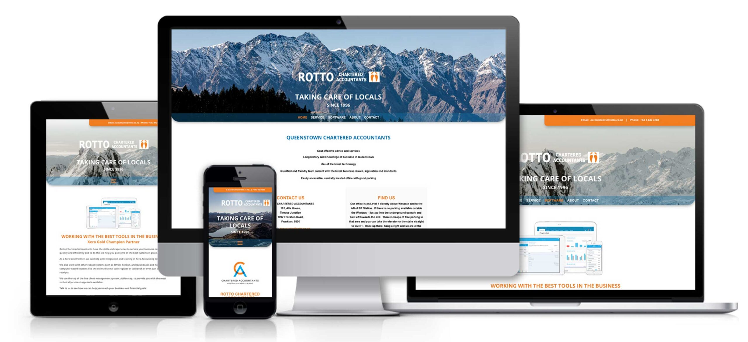 Rotto Chartered Accountants Website